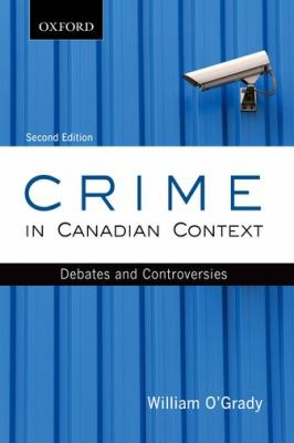 Crime in Canadian Context cover