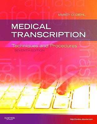 Medical Transcription : Techniques And Procedures Book Cover