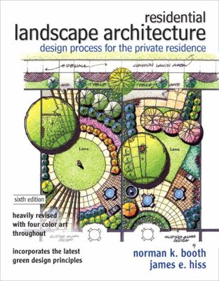 Residential Landscape Architecture book cover