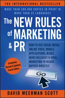 New Rules of Marketing and PR cover
