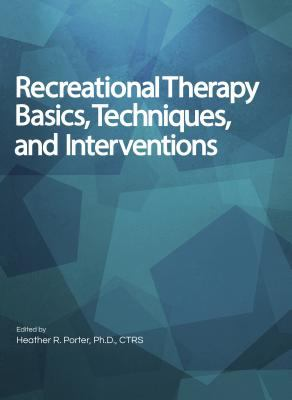 Recreational Therapy Basics cover