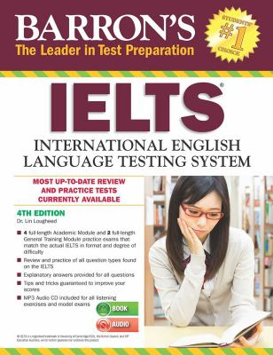 Barron's IELTS cover