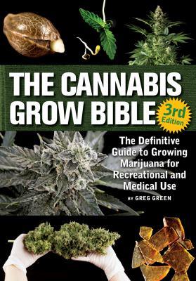 Cannabis Grow Bible book cover