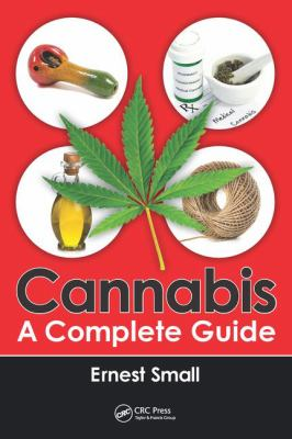 Cannabis A Complete Guide book cover